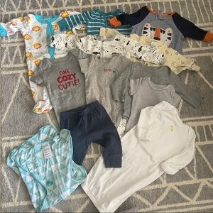 3 - 6 months Baby Boy Clothing Lot